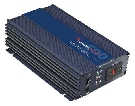 Inverter 600 Watt samlex pst 600 24 600 watt sine power inverter