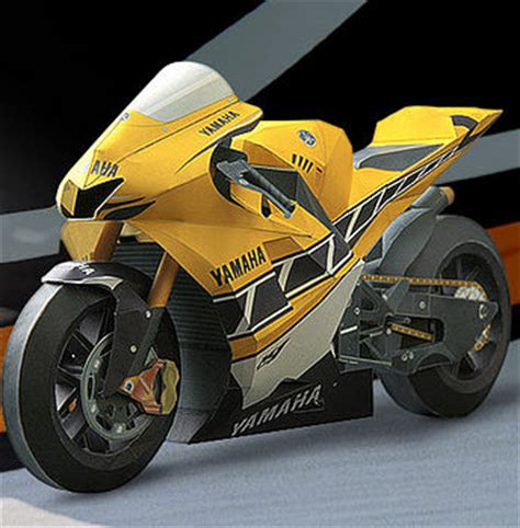 Yamaha Paper Craft - yamaha paper motorcycle models