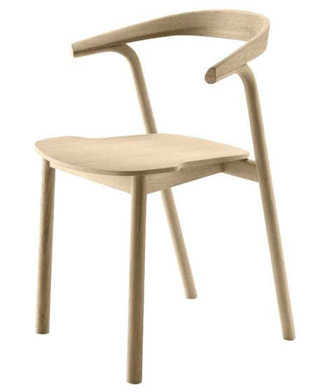 Stackable Armchairs by Makil Stackable Armchair Wood Oak By Alki