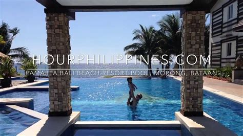 pamarta bali beach resort pool morong bataan