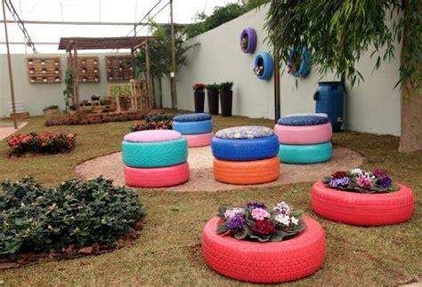 Garten Gestalten Mit Autoreifen by Altreifen Recycling 80 Einmalige Ideen Daf 252 R Archzine Net