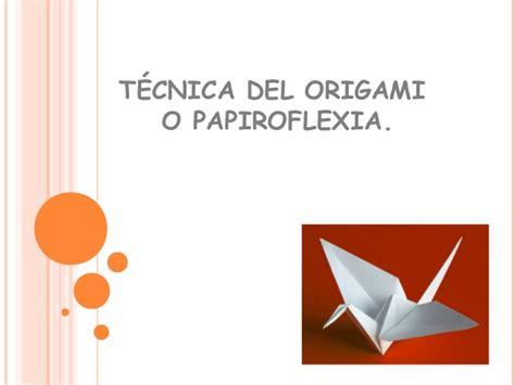 Origami O - t 233 cnica origami o papiroflexia