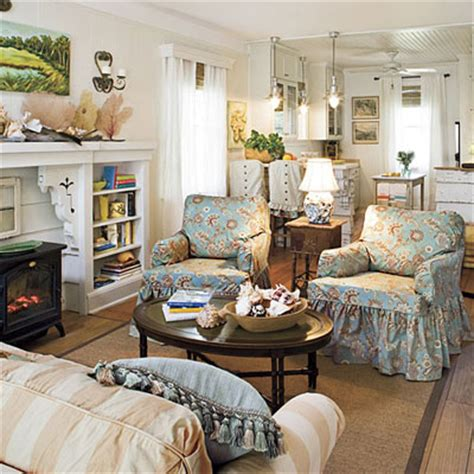 southern living decorating ideas ready for a change washable slipcovers in lighthearted