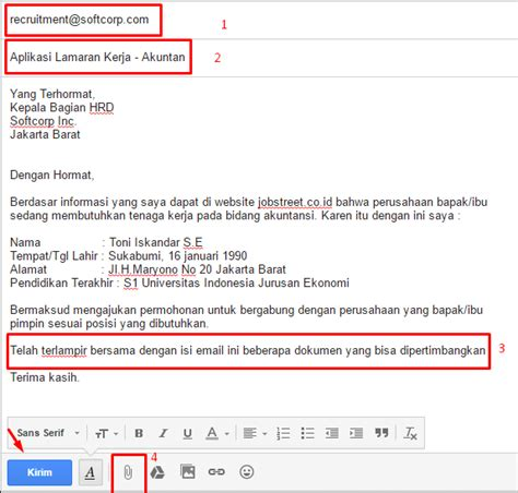 10 contoh surat lamaran pekerjaan yang baik dan benar update