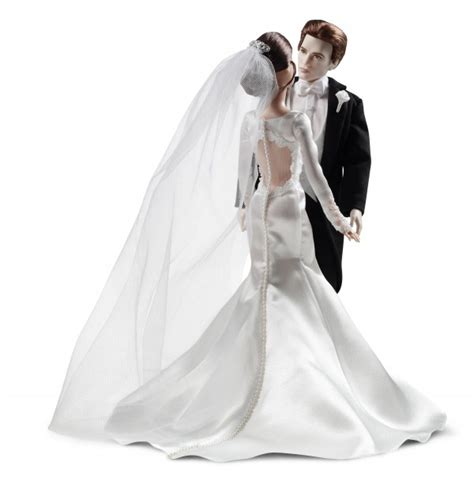 Edward and Bella Wedding Themed Barbie and Ken Dolls