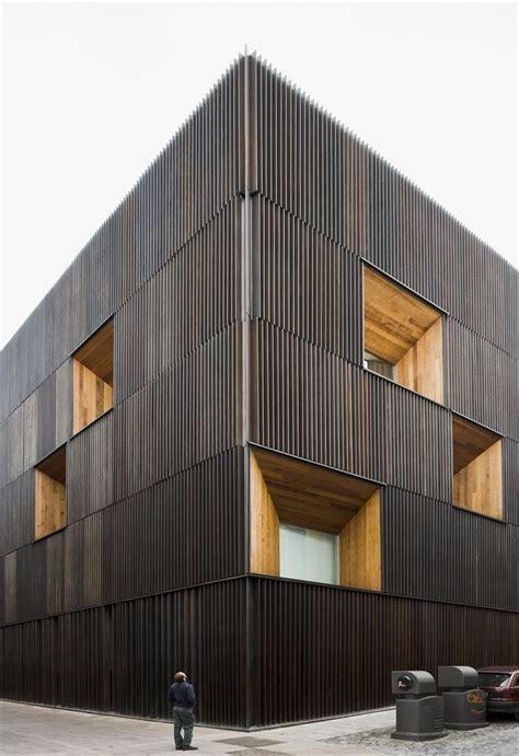 wood architecture best 25 wood facade ideas on pinterest wooden slats
