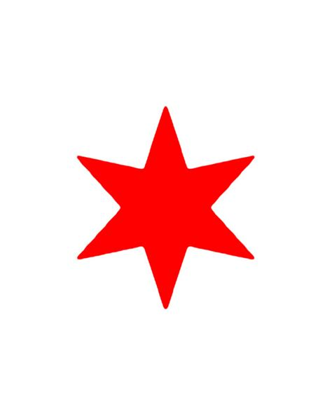 printable red star chicago bulls printable logo related keywords