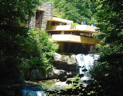 casa sulla cascata frank lloyd wright perch 232 visitare la casa sulla cascata di frank lloyd
