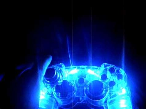 ps3 controller light codes a light up ps3 controller youtube