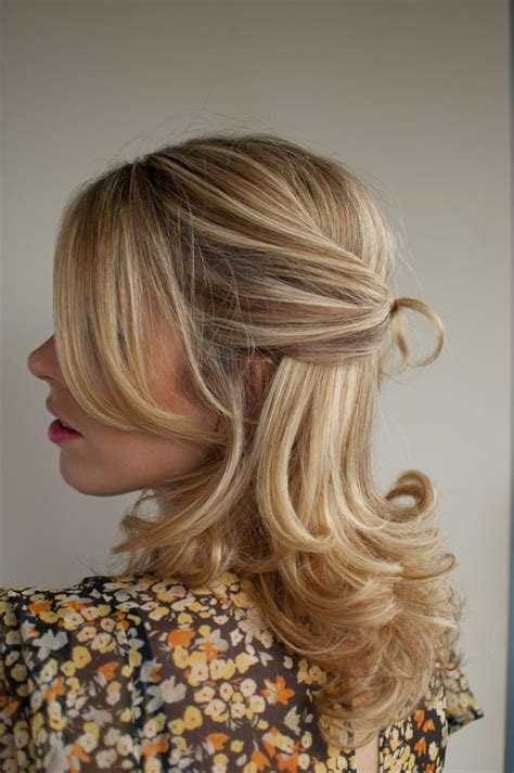 half up half down hairstyles knot 30 days of twist pin hairstyles day 10 hair romance