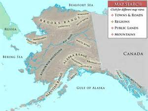 mountains in map search alaska mountain stock photos from a map