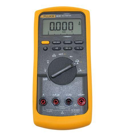 Jual Multimeter Fluke Bekas harga jual fluke 83v true rms digital multimeter