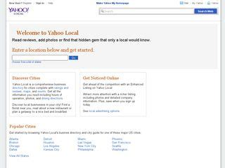 Yahoo Yellow Pages Search Yellow Pages Bdhome Web Directory