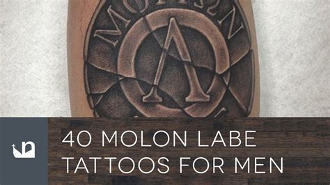 molon labe tattoo 40 molon labe tattoos for