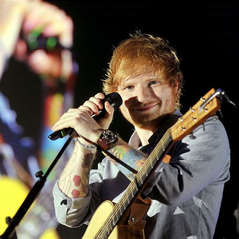 ed sheeran rig ed sheeran drives for first time on tv slides off track