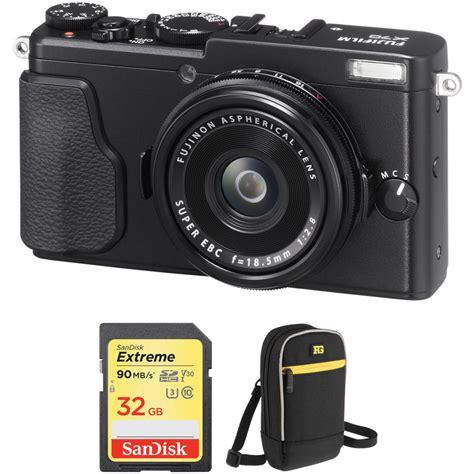 Fujifilm X T10 Only Free Memory 32gb fujifilm x70 digital with free accessory kit black b h