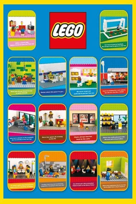 Plakat Lego by Lego Spoof Plak 225 T Obraz Na Zeď Posters Cz