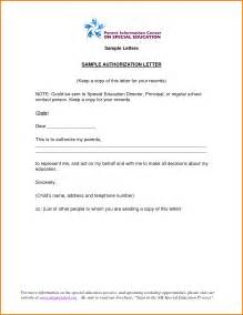 specimen of cover letter sle authorization letter with specimen authorization