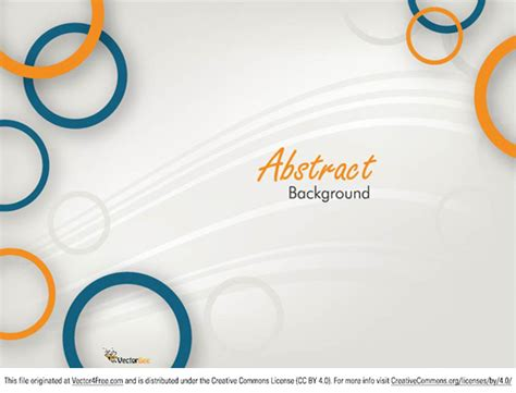 free abstract vector background design eps10 download free vector circle abstract background