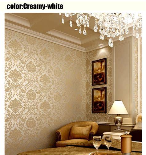 decoration maison avec papier peint couleur papier peint salon