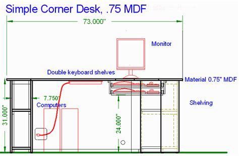 Built In Corner Desk Plans by Pdf Diy Simple Corner Desk Plans Simple Wooden