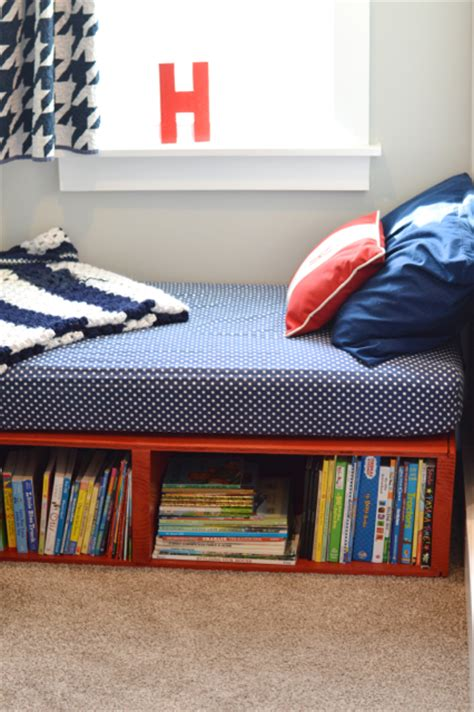 diy platform toddler bed newlywoodwards