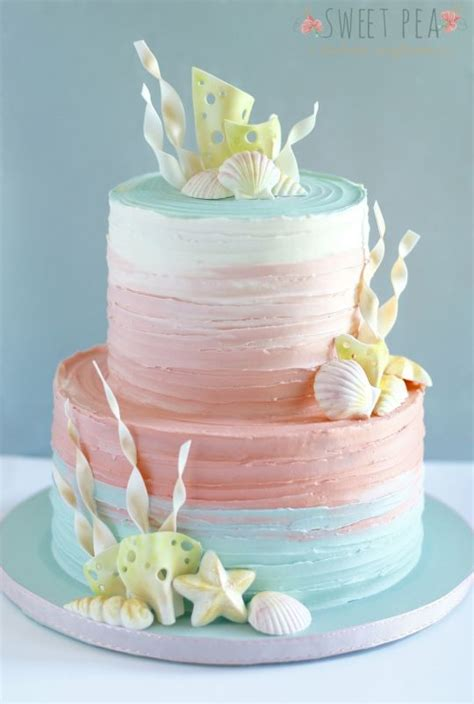 Doh Color Cake Decor Fd 040 buttercream ombr 233 this is just so pretty i want to a so i can this cake food
