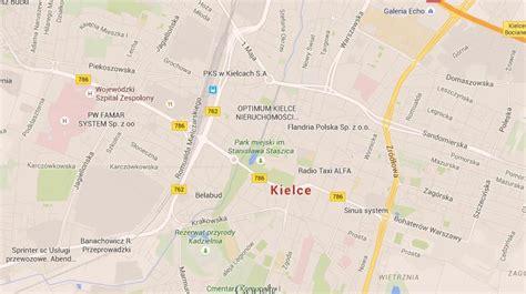 map  kielce