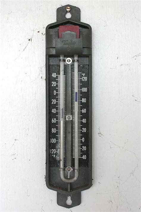 Termometer Maksimum Minimum six s thermometer lost in the landscape