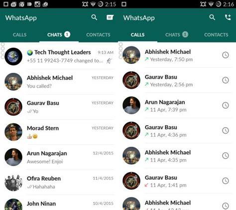 imagenes para whatsapp nuevas 2015 as 237 es el nuevo dise 241 o de whatsapp en android trecebits
