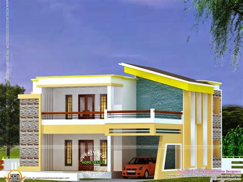 2018 modern design house roof top home elevation design for ground floor designs 2018 and charming flat roof luxury kerala plans