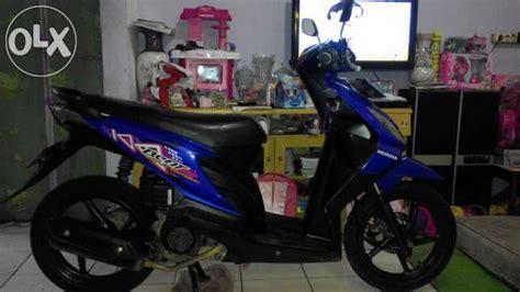 Motor Honda Beat Tahun 2011 honda beat tahun 2011 warna biru jual motor honda beat