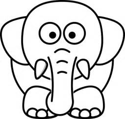 Galerry cute cartoon elephant coloring