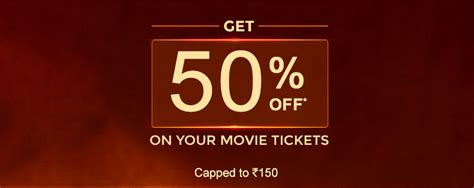 bookmyshow promo bookmyshow coupon flat rs 150 off on all online movie