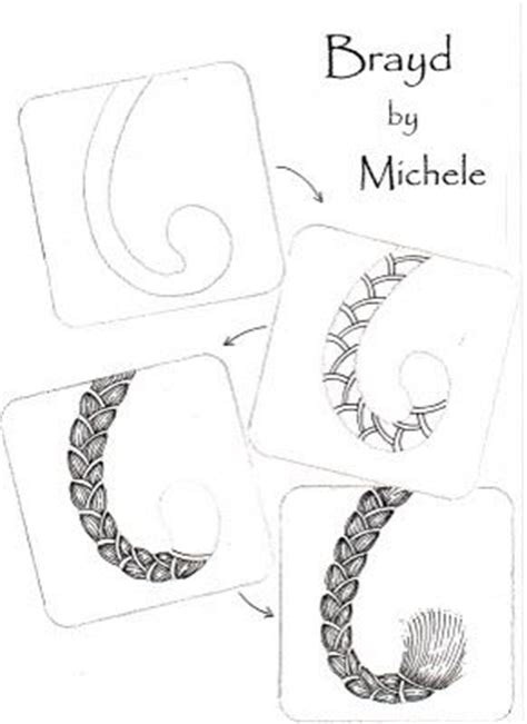 zentangle braid pattern zentangle patterns teaching and patterns on pinterest