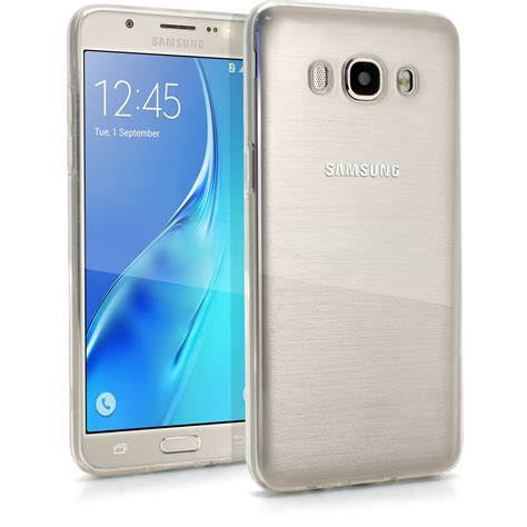 Samsung J510 2016 igadgitz glossy tpu gel skin cover for samsung galaxy