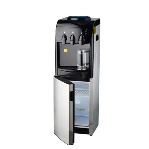 Water Dispenser With Cooler aquaport stainless steel floor standing water cooler with fridge
