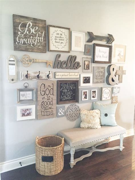 country wall decor ideas wall decoration ideas for living room home design