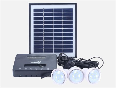 8w Solar Home Lighting Kit 4 Bulbs Mw Se008 Mingwang
