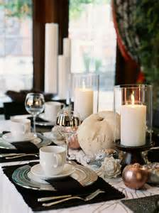 table decorations to make at home glittering fall table setting and centerpiece ideas hgtv