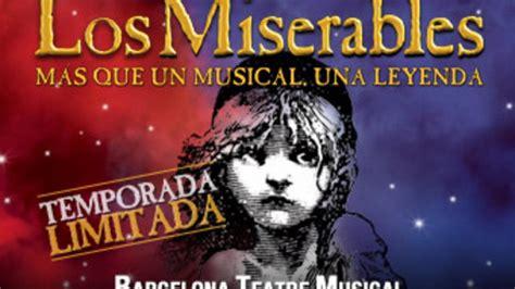 entradas los miserables 191 d 243 nde comprar entradas para ver el musical de los
