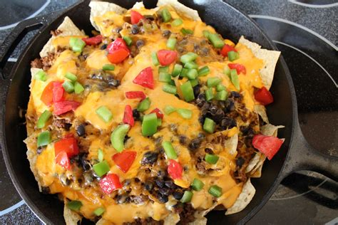 nacho supreme recipe cast iron nacho supreme nachos supreme and cast iron