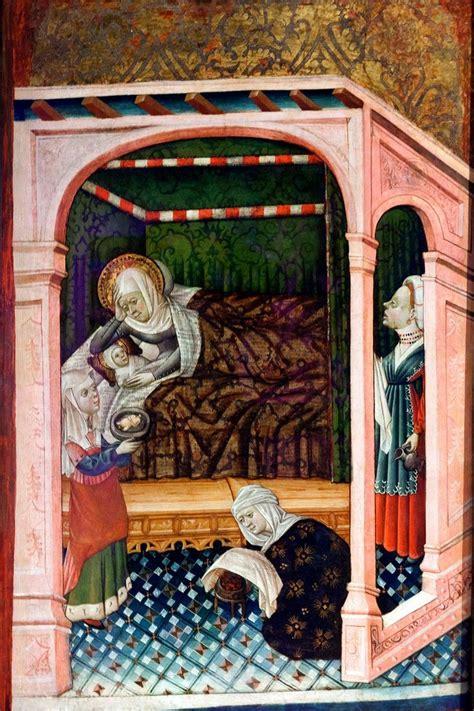 folio 30r the art of nacimiento de la virgen mar 237 a taller de blasco de gra 241 233 n xv huques giorneas