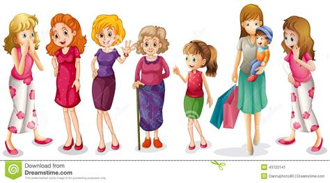 for of all ages of all ages stock vector illustration of clipart