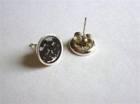 Handmade Silver Stud Earrings - handmade silver tea stud earrings by lowe