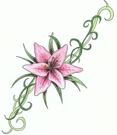 small lily tattoos 51 small tattoos ideas