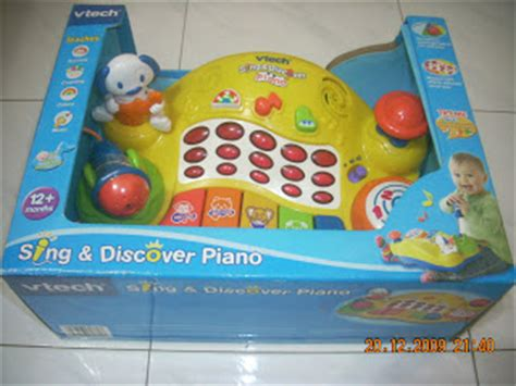 Vtech Sing And Discover Piano 6m Mainan Vtech T3010 2 toys4toddlers vtech sing discover piano new