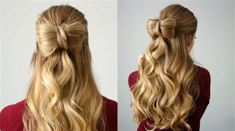 Bow Hairstyles by Half Up Hair Bow Sue