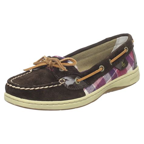 sperry loafer sperry top sider womens angelfish slip on loafer in brown