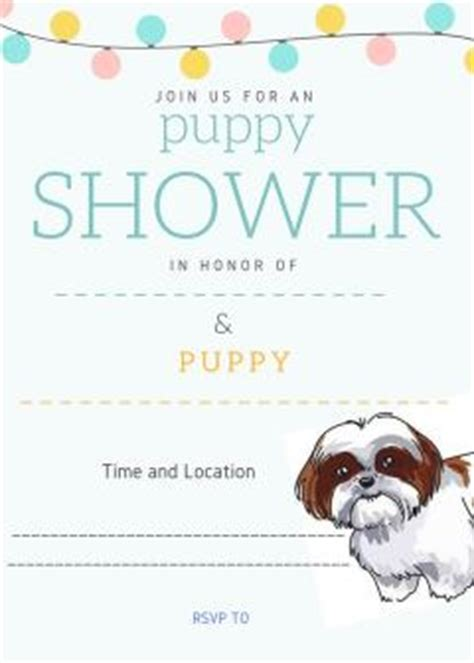 shih tzu puppy shower tips for a